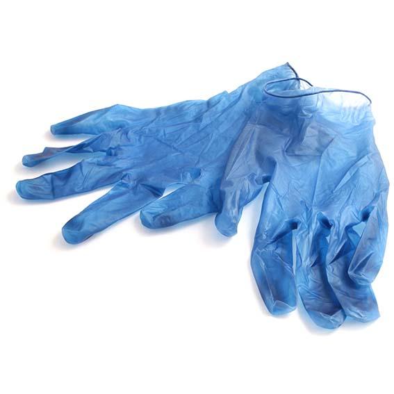 gant vinyle detectable